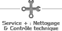 Service + : Nettoyage & contrôle technique