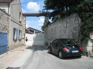 Accès-parking